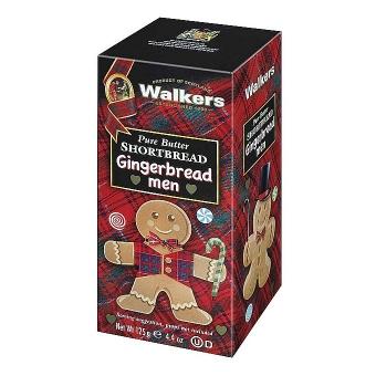 Walkers Gingerbread Men 125 g