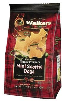 Walkers Mini Scottie Dogs 125 g