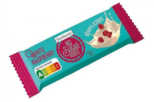 Frankonia No Sugar Added White Raspberry Riegel 50 g