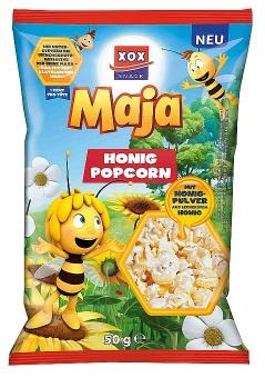 XOX Biene Maja Honig Popcorn 50 g