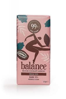 Balance Dark Cocoa Nibs Chocolate 100 g