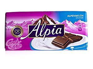 Alpia Alpenmilch Schokolade 100 g