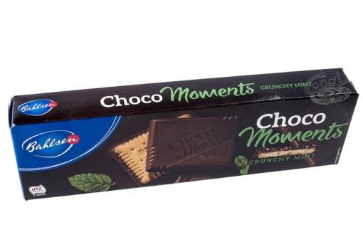 Bahlsen Choco Moments Crunchy Mint 120 g