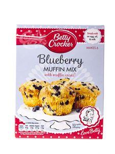 Betty Crocker Blueberry Muffin Mix a 375 g