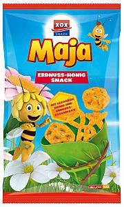 XOX Biene Maja Erdnuss-Honig Snack 175 g