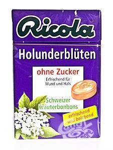 Ricola Holunderblüten ohne Zucker a 50 g