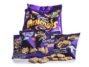 Cadbury Mini Animals 132 g