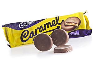 Cadbury Caramel Biscuits 130 g