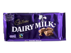 Cadbury Dairy Milk Schokolade 200 g