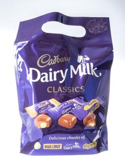 Cadbury Dairy Milk Classics Mixed Chocolate Chunks Pouch 350 g