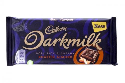 Cadbury Darkmilk Roasted Almond 85 g