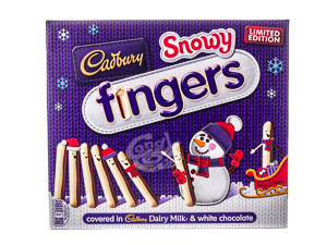 Cadbury Snowy Fingers 115 g