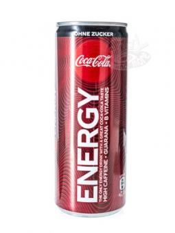 Coca-Cola Energy ohne Zucker 250 ml