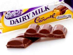 Cadbury Caramel Schokolade 120 g