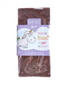 Einhorn Schokolade - Vergiss den Prinzen, ich nehm das Einhorn 80 g