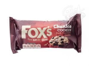 Foxs Chunkie Cookies Dark Chocolate Chunks 180 g