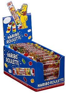 Haribo Fruchtgummi Roulette a 50 Rollen a 25 g