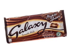 Galaxy Smooth Milk Chocolate 200 g