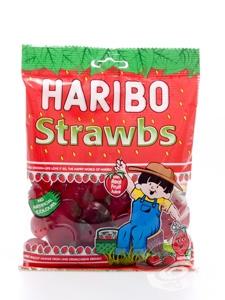 Haribo Strawbs 160 g