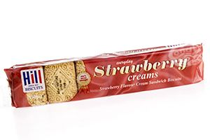 Hill Strawberry Creams Biscuits 150 g