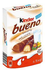 Ferrero Kinder Bueno 6er Pack a 129 g