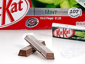 KitKat 2 Finger Dark Mint 9er Pack 186,3 g