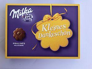 Milka Kleines Dankeschön Pralinés Alpenmilch-Créme 110 g