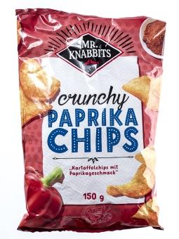 Mr. Knabbits Paprika Chips 150 g