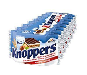 Knoppers 8 Stück a 25 g