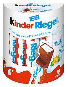 Ferrero Kinder Riegel 10er Pack a 210 g