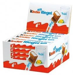 Ferrero Kinder Schoko Riegel 36 Stück a 21 g