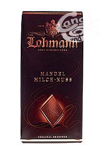 Mandel Milch-Nuss Edelschokolade v. Lohmann a 100 g