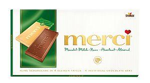 Merci Mandel-Milch-Nuss Tafelschokolade 100 g