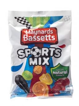 Maynards Bassetts Sports Mix 190 g