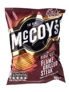 McCoys Flame Grilled Steak Crisps 47,5 g