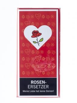 Rosenersetzer - 100 g Vollmilchschokolade -