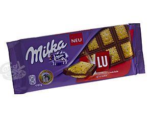 Milka Lu Alpenmilch Schokolade & Lu Kekse 87 g