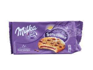 Milka Sensations innen schokoladig Kekse 156 g