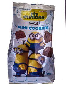 Minions Mini Cookies 120 g