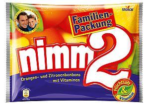 Storck Nimm2 Bonbons Familienpackung 429 g