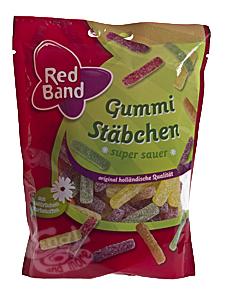 Red Band Gummi Stäbchen Minis 200 g