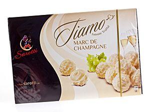 Sarotti Tiamo Feinste Trüffel Marc de Champagne 125 g