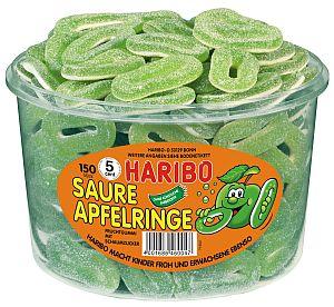 Haribo Saure Apfel Ringe 1200 g