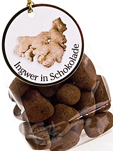 Chocolate Garden - Ingwer in Schokolade a 100 g