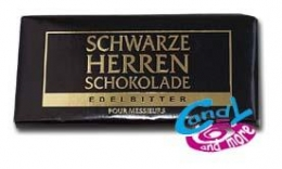 Sarotti Schwarze Herren Schokolade Edelbitter 100 g