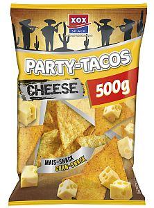 XOX Party-Tacos Nacho Cheese 500 g