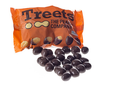 Treets Peanuts 185 g