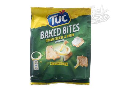 TUC Baked Bites Cream Cheese & Onion 110 g