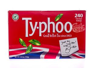 Typhoo 240 Teebeutel 750 g