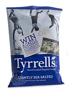 Tyrrells Chips Lightly Sea Salted 150 g